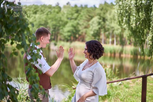Свадебные фото в Сухолучье, Киевское море и сьемка в поле  - фото №45