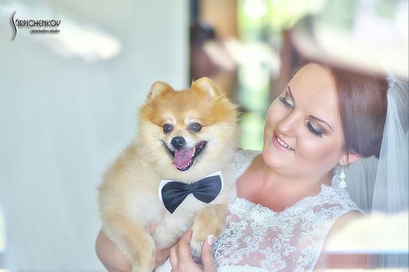Свадебные фото на Мануфактуре и выездная церемония в ресторане Kidev - фото №17
