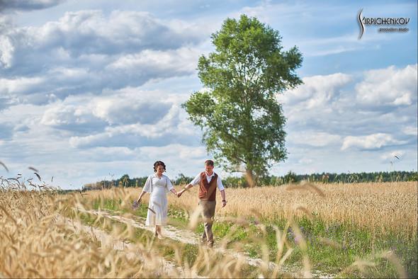 Свадебные фото в Сухолучье, Киевское море и сьемка в поле  - фото №16