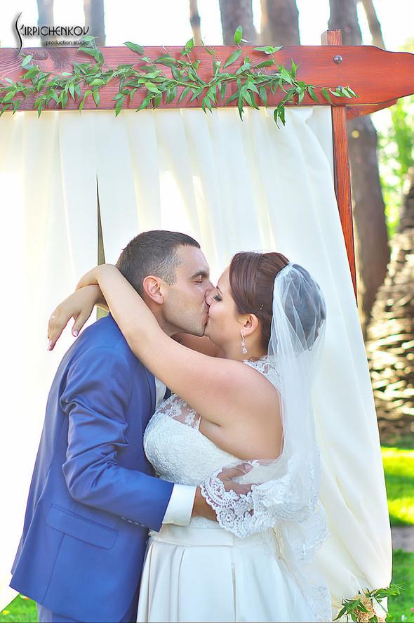 Свадебные фото на Мануфактуре и выездная церемония в ресторане Kidev - фото №84