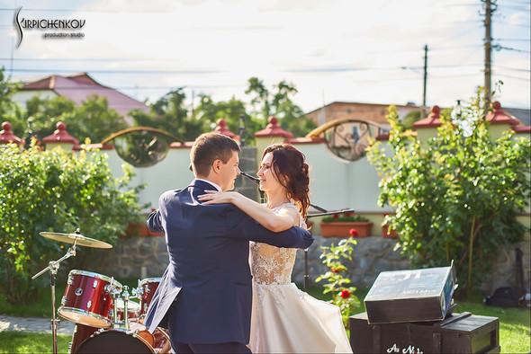 Свадьба на природе возле частного дома с выездной церемонией - фото №80