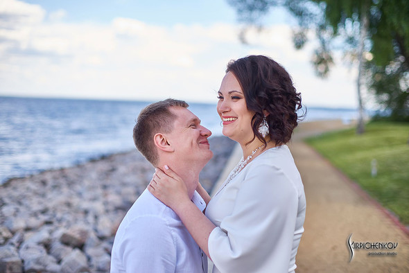 Свадебные фото в Сухолучье, Киевское море и сьемка в поле  - фото №36