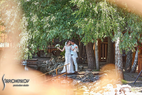 Свадебные фото на территории Соби Клаб, выездная церемония - фото №35