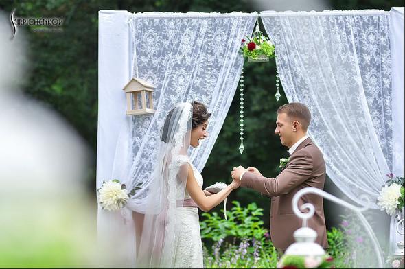 Свадебные фото в яблочном саду, г. Чернигов - фото №56
