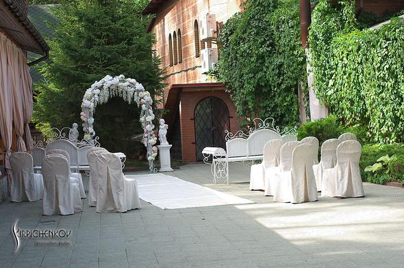 Свадебные фото в каньоне Буки и выездная церемония в ресторане Фортеця - фото №75