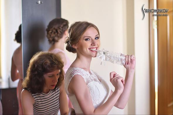 Свадебные фото в каньоне Буки и выездная церемония в ресторане Фортеця - фото №11