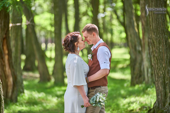 Свадебные фото в Сухолучье, Киевское море и сьемка в поле  - фото №49