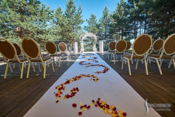 Свадебные фото на территории Соби Клаб, выездная церемония - фото №71