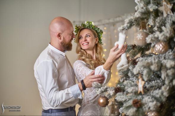 Свадебные фото в Оранжерее в Киеве, студийная сьемка в фотостудии Счастье - фото №33