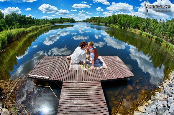 Свадебные фото в Сухолучье, Киевское море и сьемка в поле  - фото №46