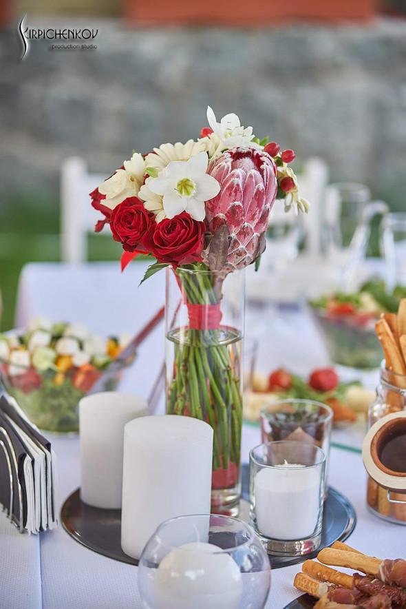 Свадьба на природе возле частного дома с выездной церемонией - фото №76