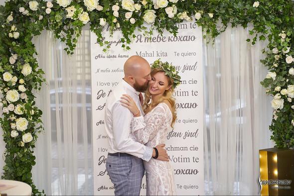 Свадебные фото в Оранжерее в Киеве, студийная сьемка в фотостудии Счастье - фото №25