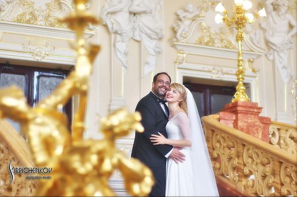Свадебные фото на море в Одессе, фото в Оперном театре и на маковом поле - фото №81