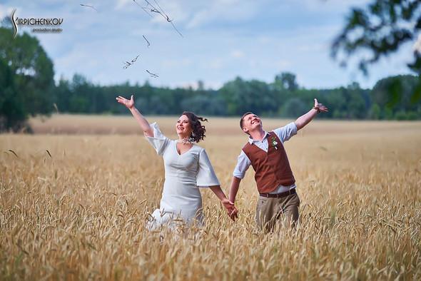 Свадебные фото в Сухолучье, Киевское море и сьемка в поле  - фото №21