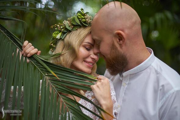 Свадебные фото в Оранжерее в Киеве, студийная сьемка в фотостудии Счастье - фото №13