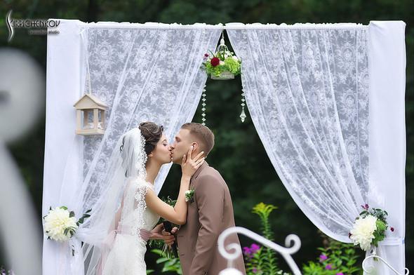 Свадебные фото в яблочном саду, г. Чернигов - фото №54