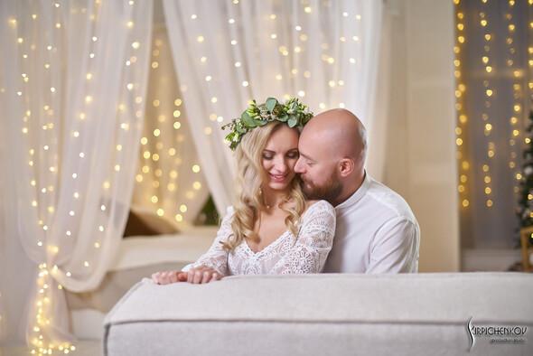 Свадебные фото в Оранжерее в Киеве, студийная сьемка в фотостудии Счастье - фото №32