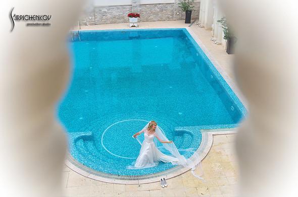 Свадебные фото на море в Одессе, фото в Оперном театре и на маковом поле - фото №52