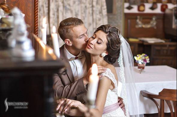 Свадебные фото в яблочном саду, г. Чернигов - фото №42