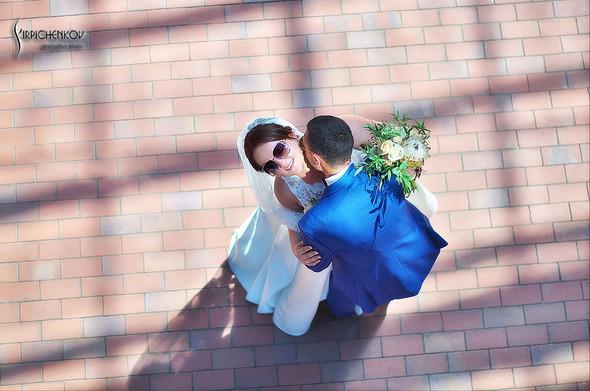 Свадебные фото на Мануфактуре и выездная церемония в ресторане Kidev - фото №48
