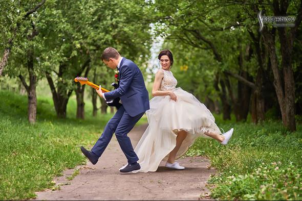 Свадьба на природе возле частного дома с выездной церемонией - фото №61