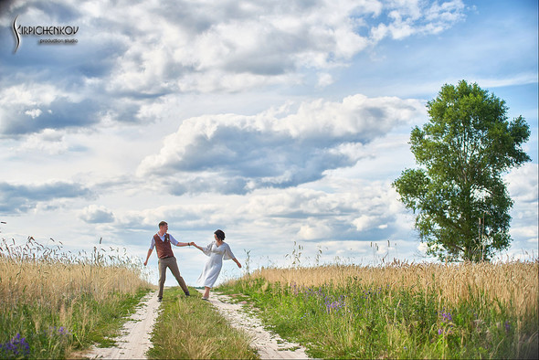 Свадебные фото в Сухолучье, Киевское море и сьемка в поле  - фото №18