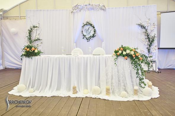 Свадебные фото на территории Соби Клаб, выездная церемония - фото №50