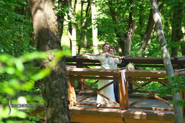 Свадебные фото в каньоне Буки и выездная церемония в ресторане Фортеця - фото №65