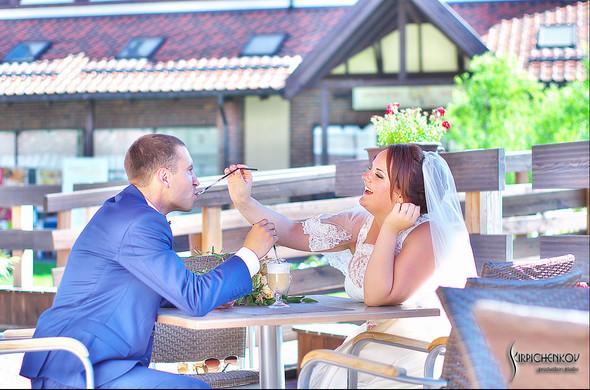 Свадебные фото на Мануфактуре и выездная церемония в ресторане Kidev - фото №59