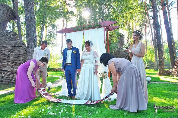 Свадебные фото на Мануфактуре и выездная церемония в ресторане Kidev - фото №76