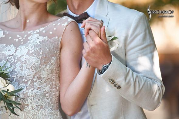 Свадебные фото на территории Соби Клаб, выездная церемония - фото №34
