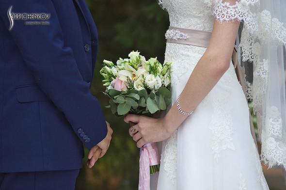 Свадебные фото в каньоне Буки и выездная церемония в ресторане Фортеця - фото №79