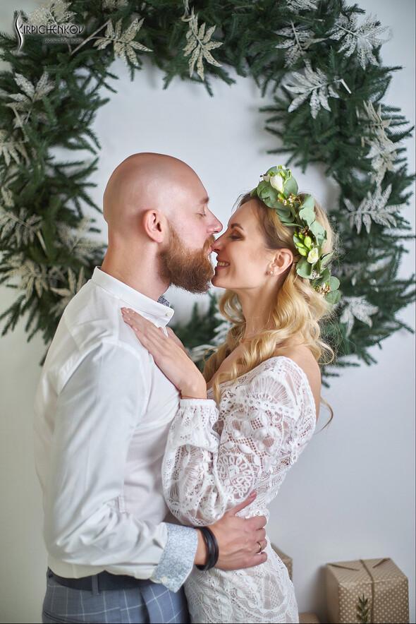 Свадебные фото в Оранжерее в Киеве, студийная сьемка в фотостудии Счастье - фото №41