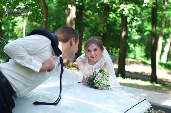 Свадебные фото в каньоне Буки и выездная церемония в ресторане Фортеця - фото №33