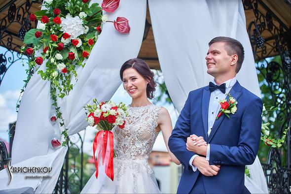 Свадьба на природе возле частного дома с выездной церемонией - фото №20