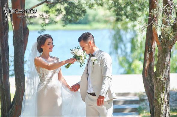 Свадебные фото на территории Соби Клаб, выездная церемония - фото №55