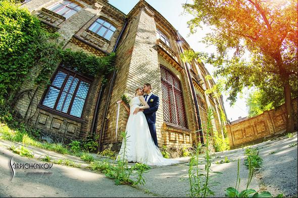 Свадебные фото в каньоне Буки и выездная церемония в ресторане Фортеця - фото №57