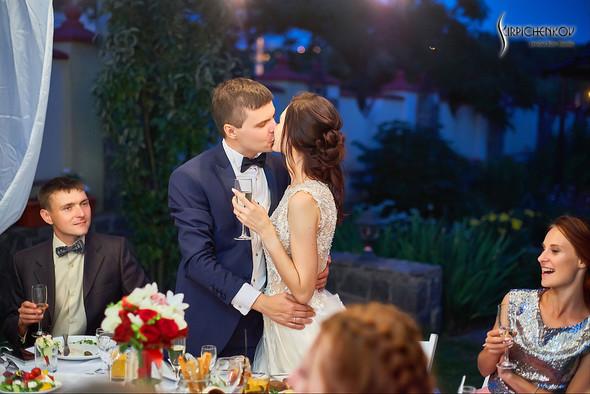 Свадьба на природе возле частного дома с выездной церемонией - фото №94