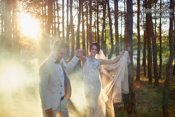 Свадебные фото на территории Соби Клаб, выездная церемония - фото №96