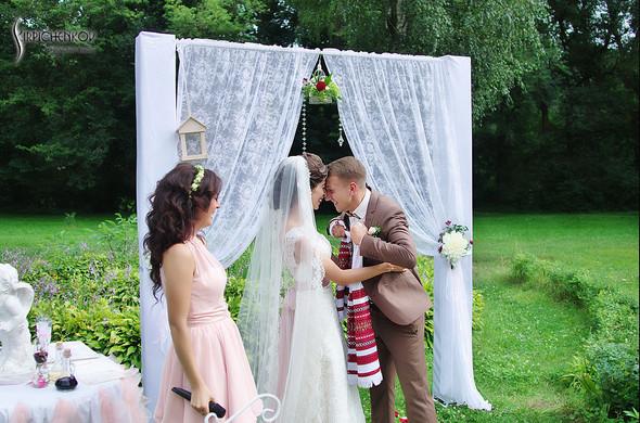 Свадебные фото в яблочном саду, г. Чернигов - фото №65