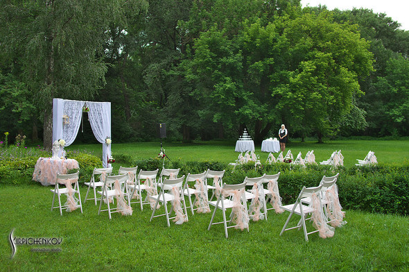 Свадебные фото в яблочном саду, г. Чернигов - фото №45