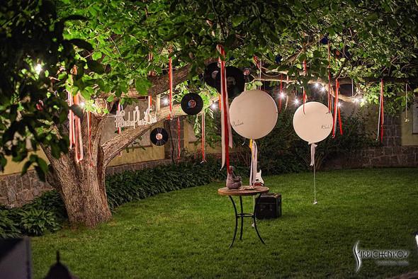 Свадьба на природе возле частного дома с выездной церемонией - фото №98