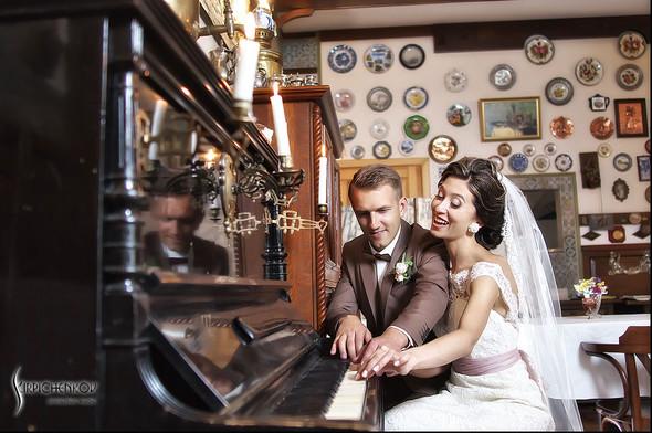 Свадебные фото в яблочном саду, г. Чернигов - фото №41