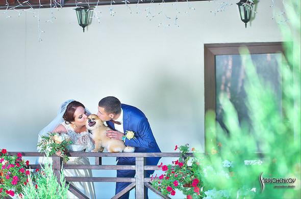 Свадебные фото на Мануфактуре и выездная церемония в ресторане Kidev - фото №28