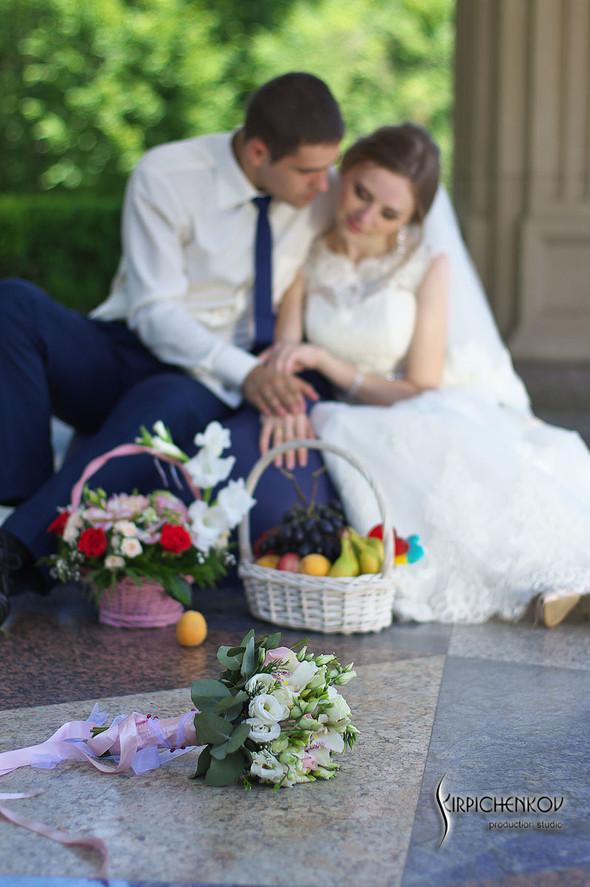 Свадебные фото в каньоне Буки и выездная церемония в ресторане Фортеця - фото №68
