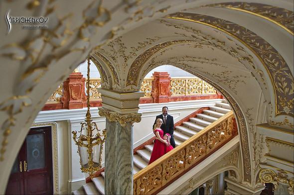 Свадебные фото на море в Одессе, фото в Оперном театре и на маковом поле - фото №85