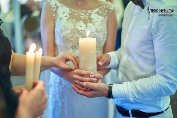 Свадебные фото на территории Соби Клаб, выездная церемония - фото №101