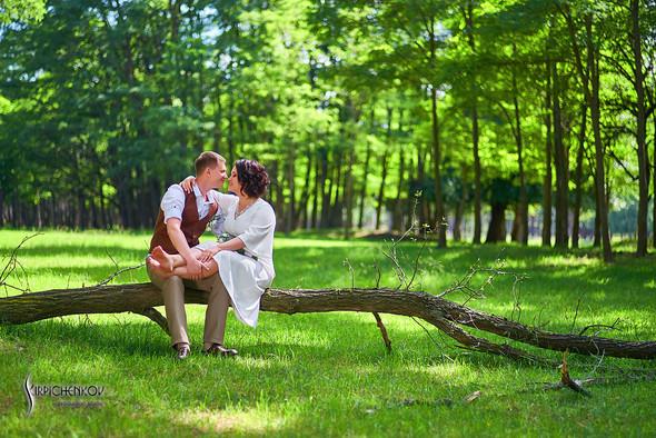 Свадебные фото в Сухолучье, Киевское море и сьемка в поле  - фото №23