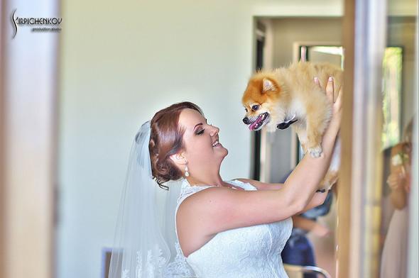 Свадебные фото на Мануфактуре и выездная церемония в ресторане Kidev - фото №16