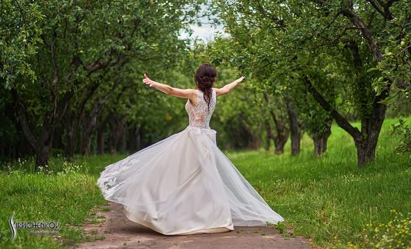 Свадьба на природе возле частного дома с выездной церемонией - фото №71